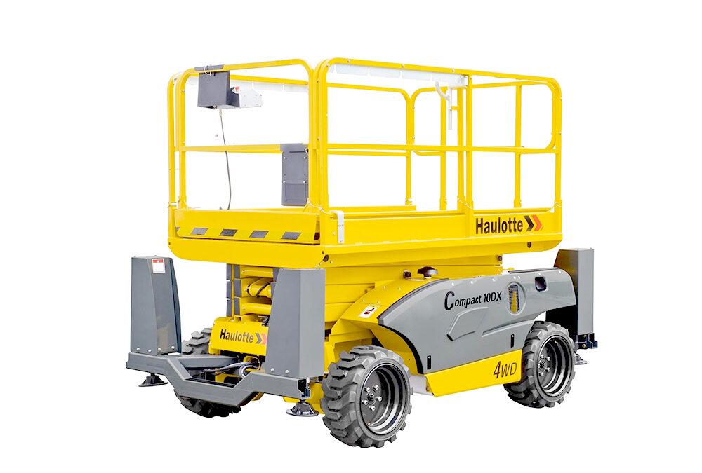 Tijera Diesel 4×4 de 10m (h) Compact 10 DX