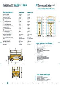 CM_Plataforma Tijera-COMPACT 10-12 DX